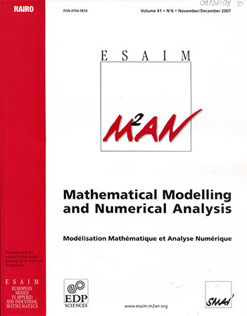ESAIM : Mathematical Modelling and Numerical Analysis